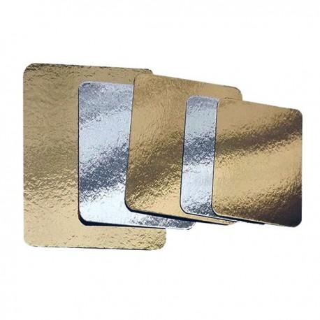 Plaque à saumon dorée et argentée 120x200