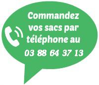 Commande de sacs sous vide par téléphone 03 88 64 37 13
