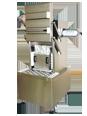 Machine verticale à couvercle basculant